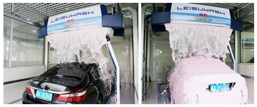 Leisuwash win5 OverGlow Hi-gloss application system