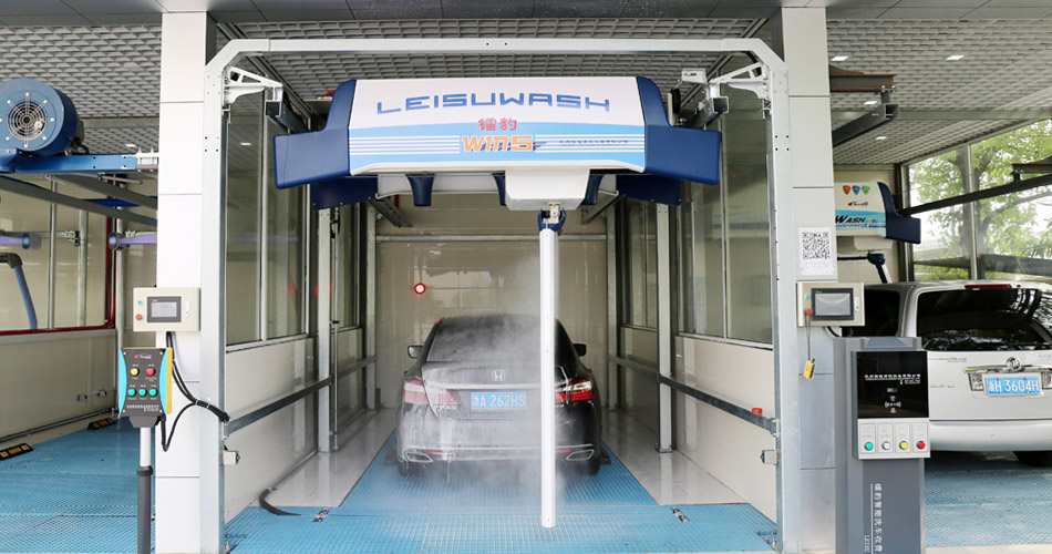 Leisuwash win5 automatic car wash system