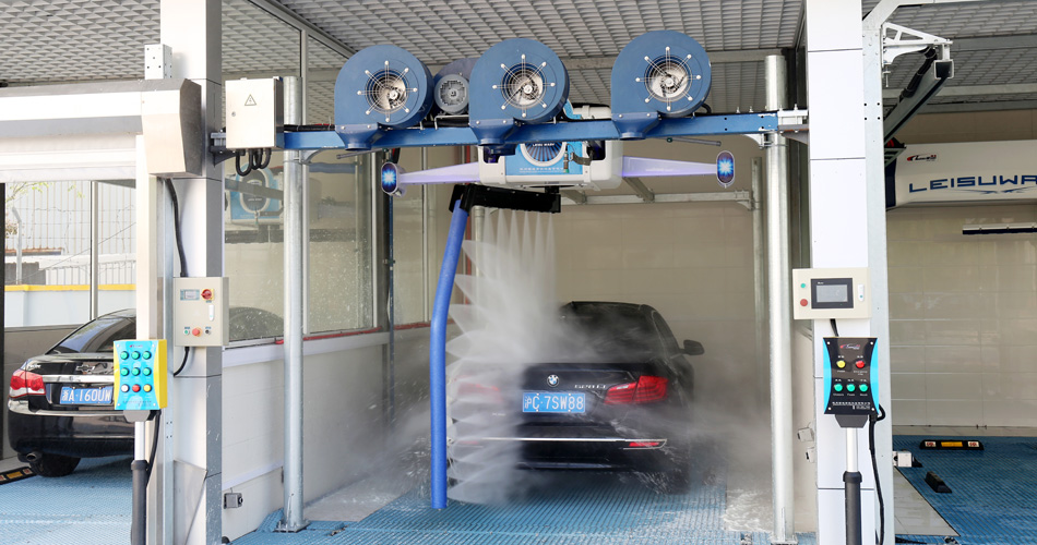 Leisuwash Sword X1 X2 Automatic Car Wash Machine