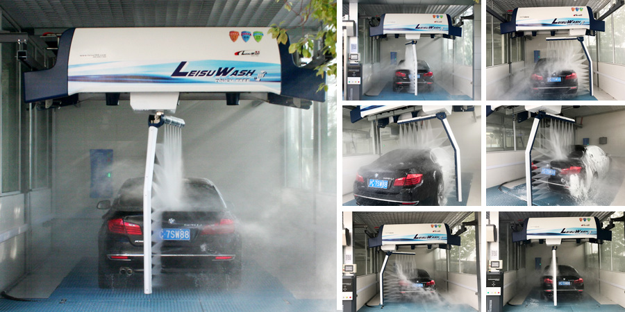 Foam Spray Car Wash >> Leisuwash Leibao 360 Car Wash System | Leisuwash 360 Automatic car wash equipment touchless
