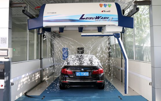 Leisuwash Leibao 360 Car Wash System
