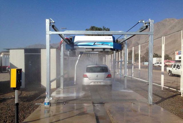 automatic vehicle cleaning