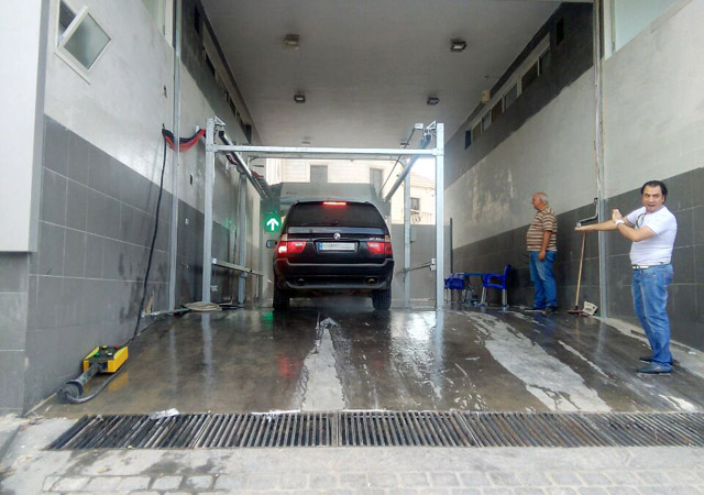 car wash touch free