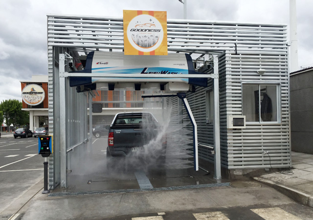 vehicle automatic washing