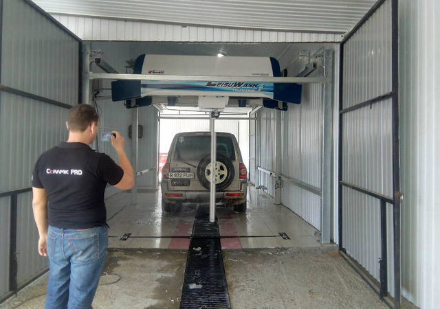 China autoamtic car wash in Kazakhstan