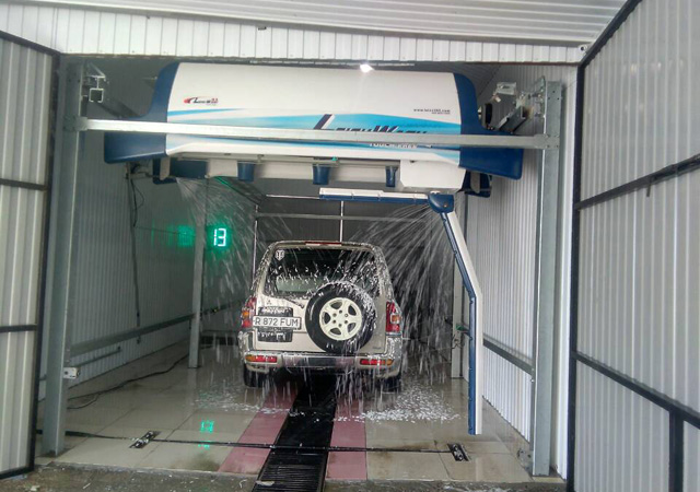 Laserwash 360 car wash machine from China