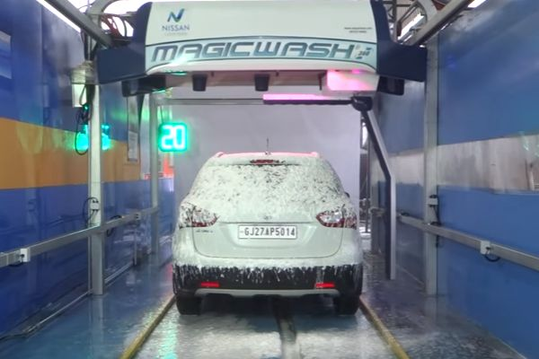 Nissan Clean India Magic Wash 360