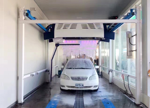 touch free car wash in Taiwan