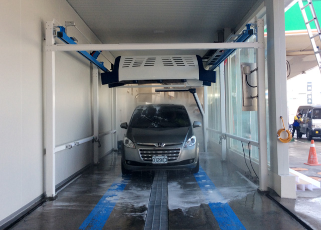 touchless car wash system in Taiwan