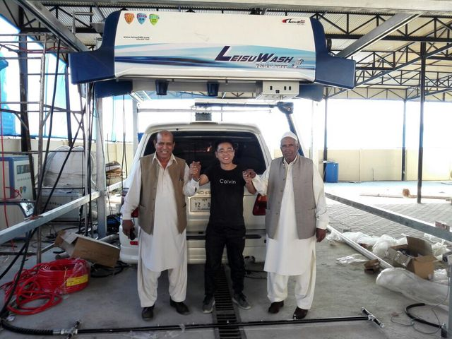 automatic car wash equipment in Pakistan