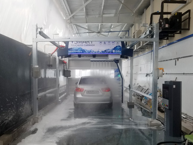 auto car wash equipment touch free