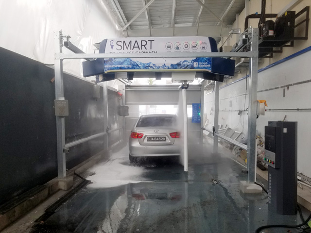 automatic car wash in Singapore