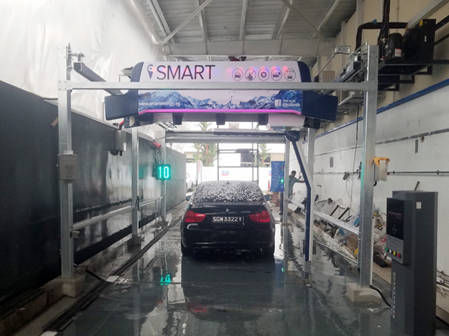 automatic touchless car wash system