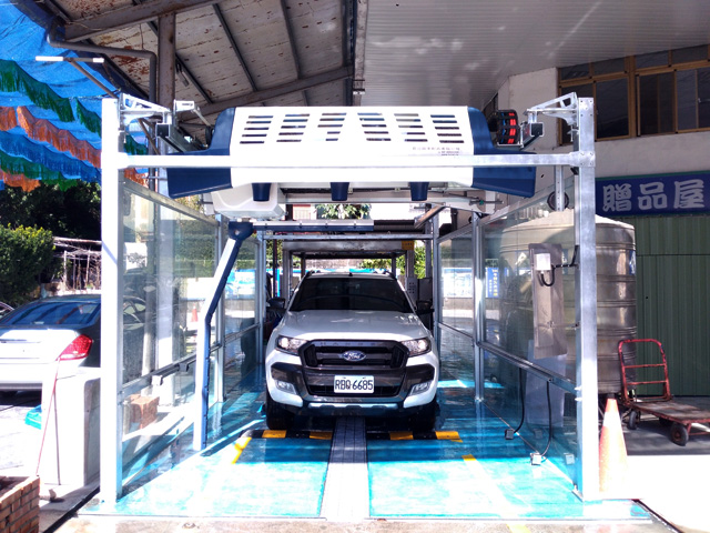 automatic touchless car wash