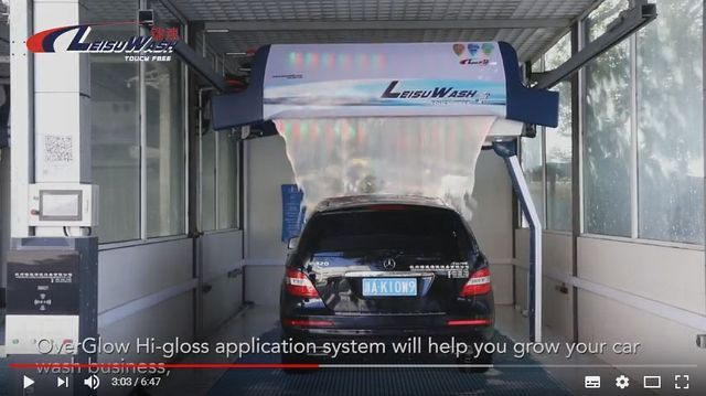 Leisuwash 360 Enterprise Video 2018 the Automatic Touchless Car Wash