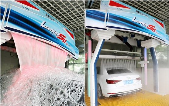 Leisuwash SG Automatic Car Wash Equipment