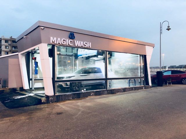 car wash shop