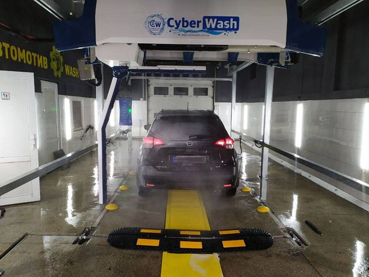 Cyber wash 360 touchless